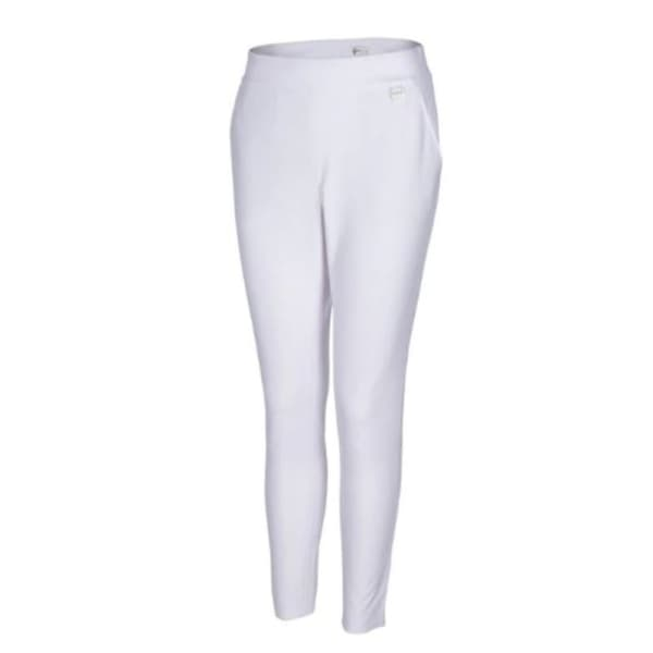 Greg Norman 4 Way Stretch Pull On Ladies White Pants