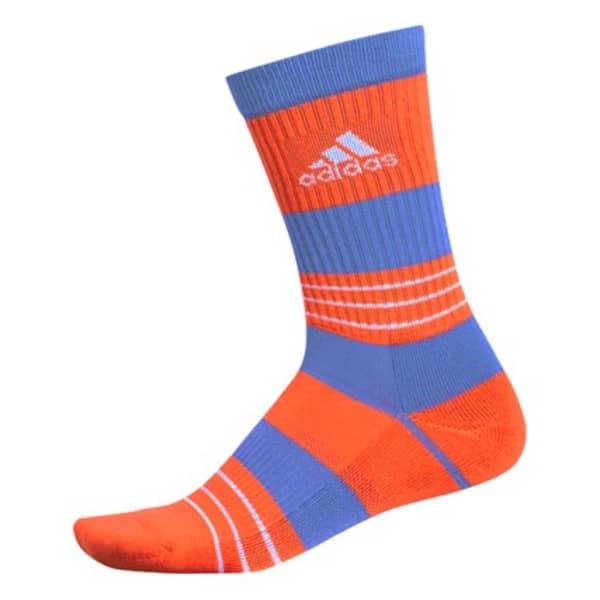 adidas Linear ColourBlocking Crew Men's Active Orange Socks