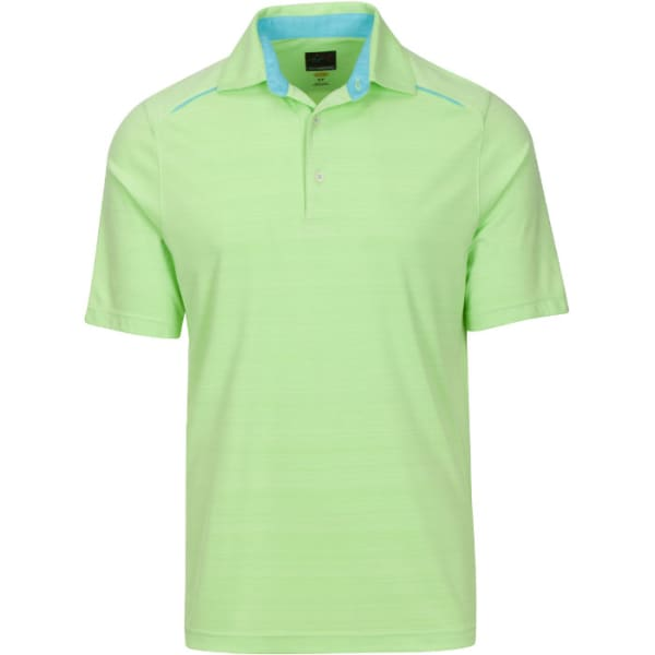 Greg Norman Weather Blade Polo Men's Axiz Green Shirt