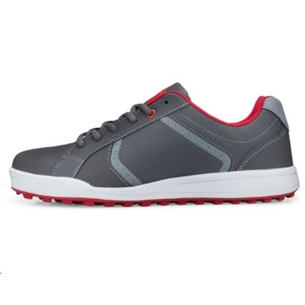 Founders Street Junior Grey/Red Shoes
