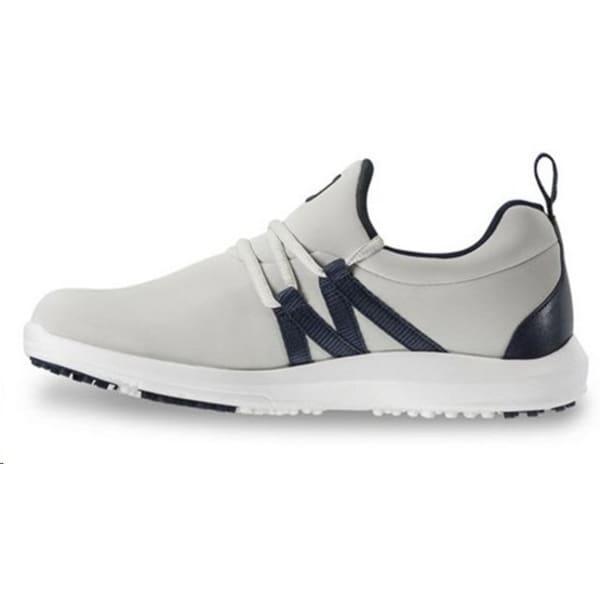 Footjoy Leisure Slip On Ladies Grey/Navy Shoes