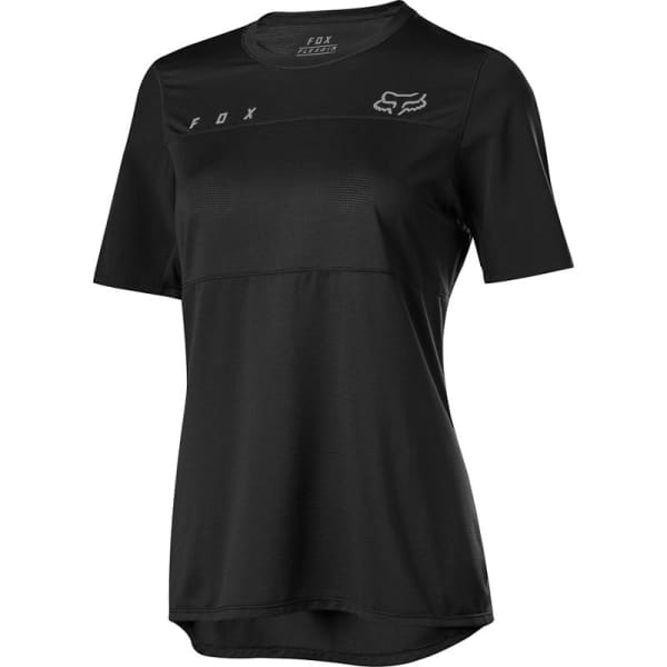 Fox Ladies Black Flexair Short Sleeve Jersey
