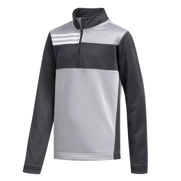 adidas ColourBlock Junior Boys Grey Jacket