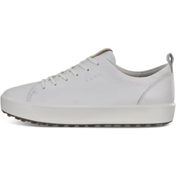 Ecco Soft Men's Bright White Shoes