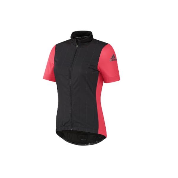 adidas Women's Cycling Supernova Short Sleeve Jersey (Coral)