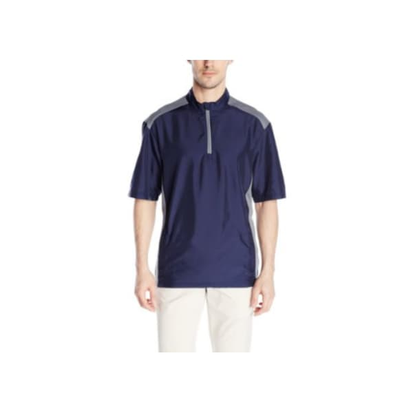 adidas Men's Club Short Sleeve Wind Jacket