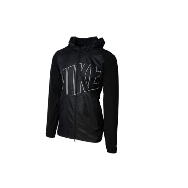 Nike Men's Printed Packable Hooded Jacket