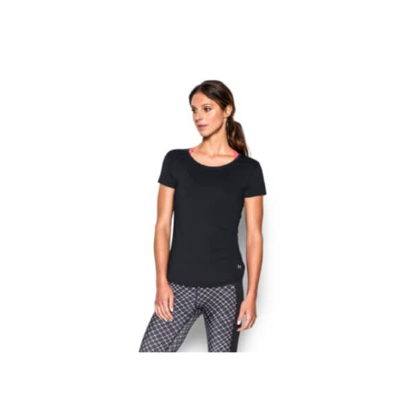 Under Armour® Ladies Fly By Shirt (Black)