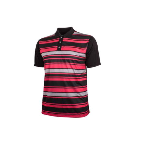 Ernie Els Men's CODE STRIPE Polo Golf Shirt