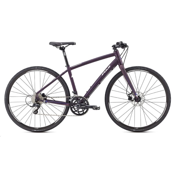 2016 Fuji Silhouette 1.3 Purple/White Hybrid Bike