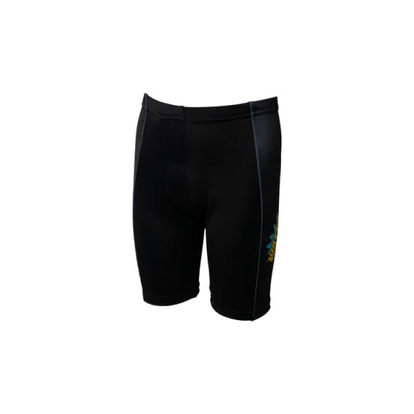 Wattz Kapow Junior Black Cycling Shorts