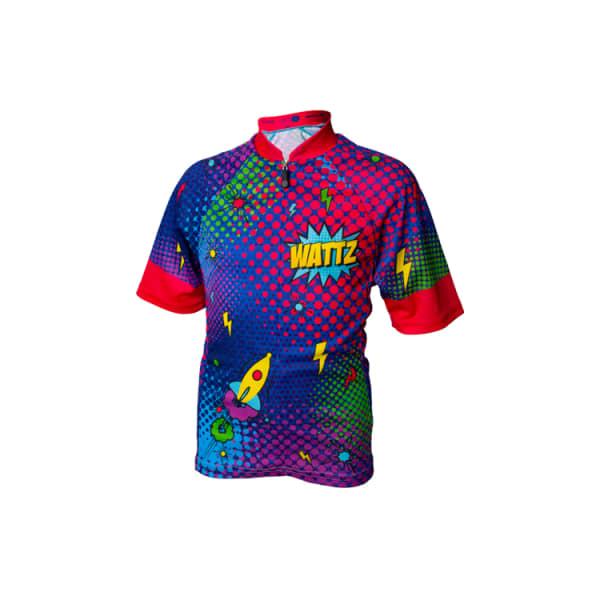 Wattz Kapow Junior Short Sleeve Jersey