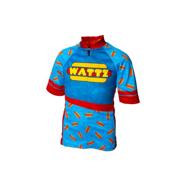 Wattz Hotdogz Time Junior Short Sleeve Jersey