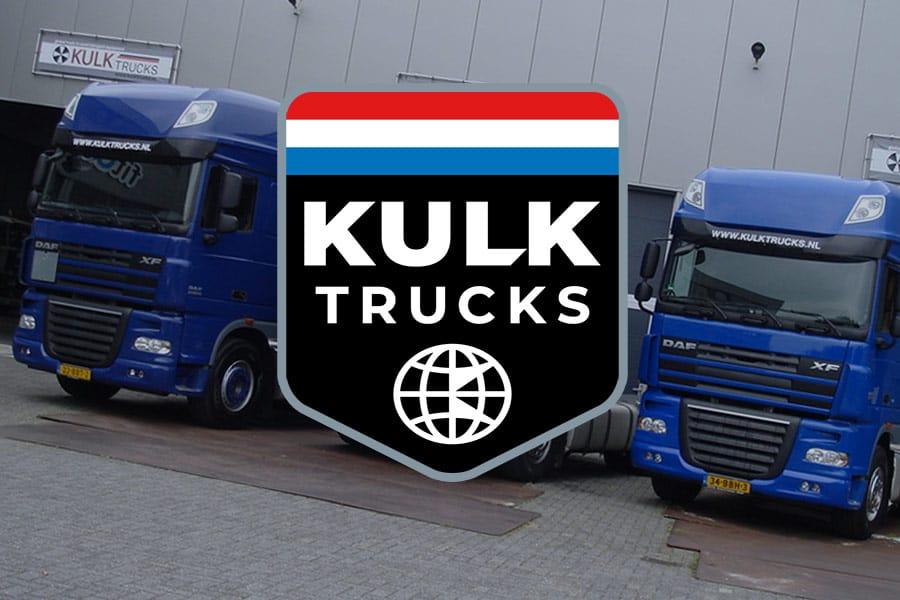 Logo ontwerp Kulk Trucks Rijnsburg