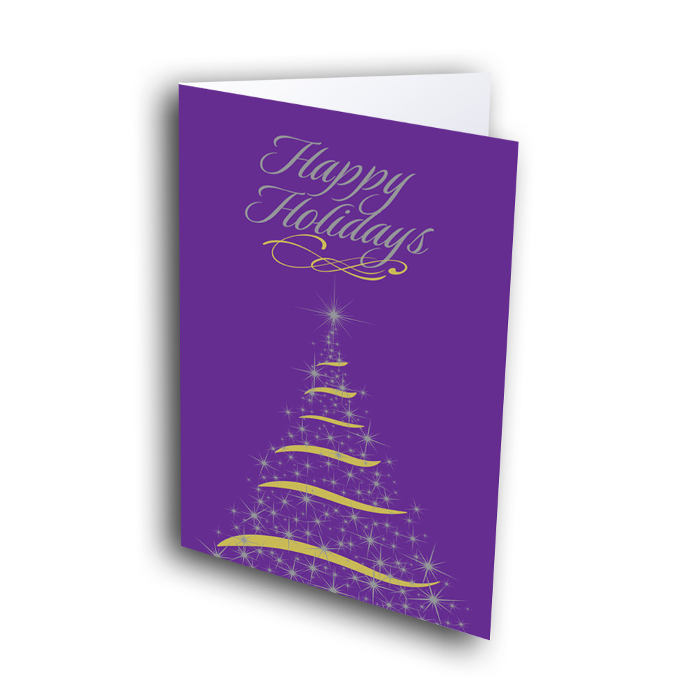 Purple Christmas Tree.Bright Purple Christmas Tree