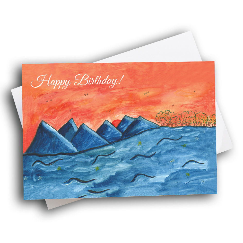 Blue Mountain Birthday Greetway Greeting Cards