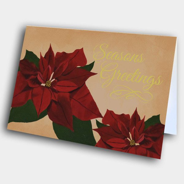 Picture of Poinsettia Christmas