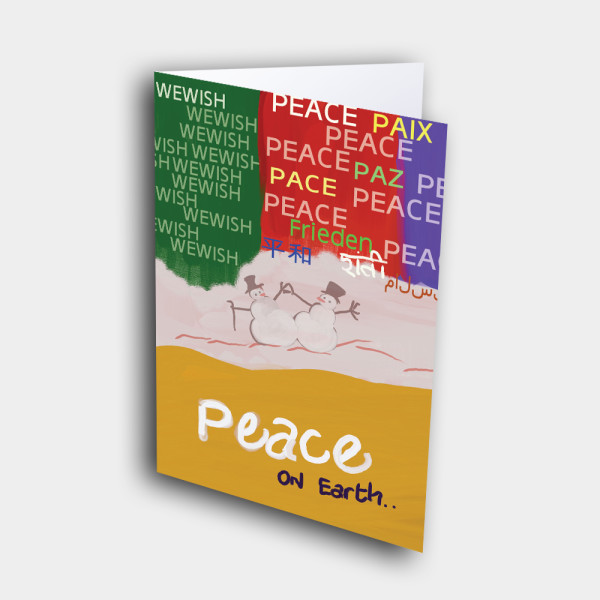Picture of Peace In World Languages