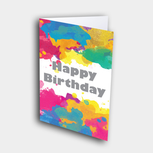 Picture of Paint Palette Birthday