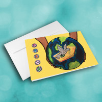 Picture of Assorted Children Art Work Holiday Cards