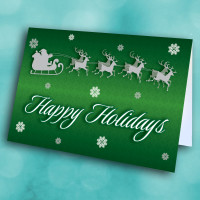 Picture of Happy Holidays (GREEN)