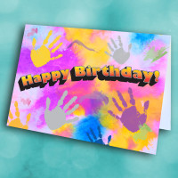 Picture of Hand Painting Birthday