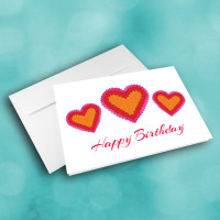 Picture of Hearts Birthday