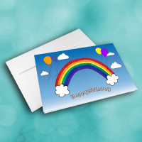 Picture of Rainbow Birthday