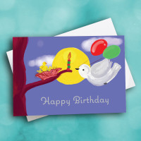Picture of Birds Birthday