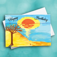 Picture of Sunset Birthday