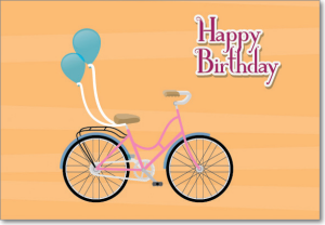 Picture of Bicycle Birthday