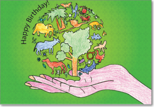 Picture of Animal Earth Birthday