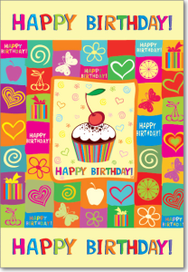 Picture of Cherry Cupcake Birthday