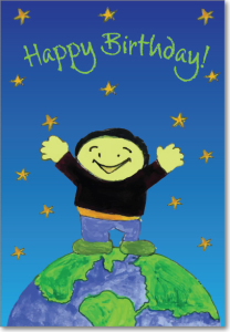 Picture of Green Boy Birthday