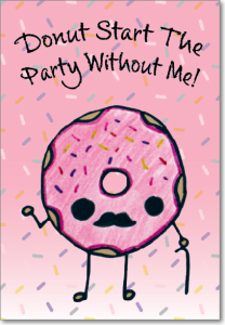 Picture of Donut Pun Birthday