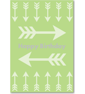 Picture of Green Arrows Birthday
