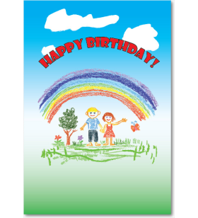 Picture of Crayon Rainbow Birthday