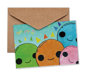Business Britdhay Greeting Cards From Children Artwork