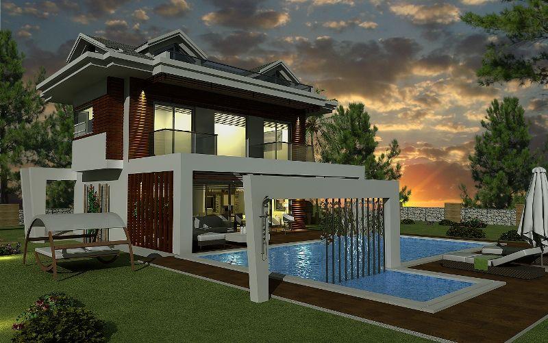 kiralık villa - 9359