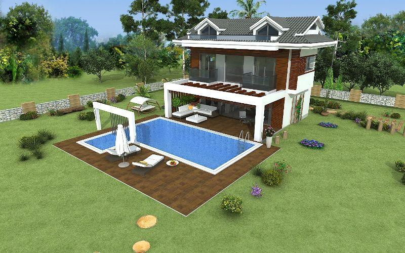 kiralık villa - 9360
