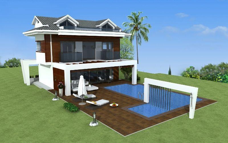 kiralık villa - 9363