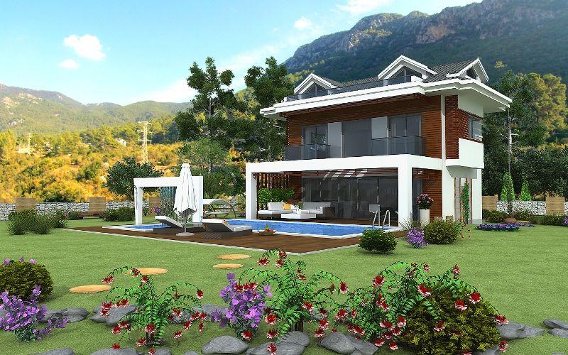 kiralık villa - 9365
