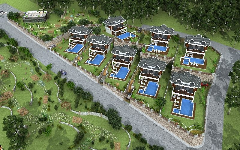 kiralık villa - 9368
