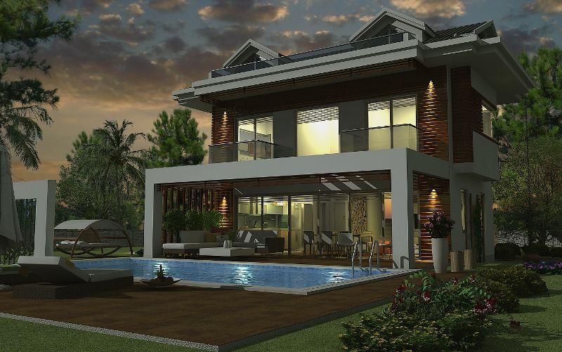 kiralık villa - 9372