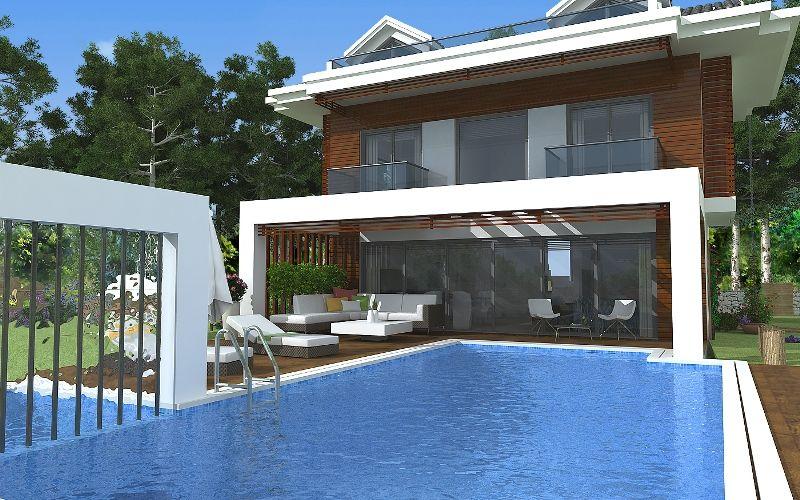 kiralık villa - 9373