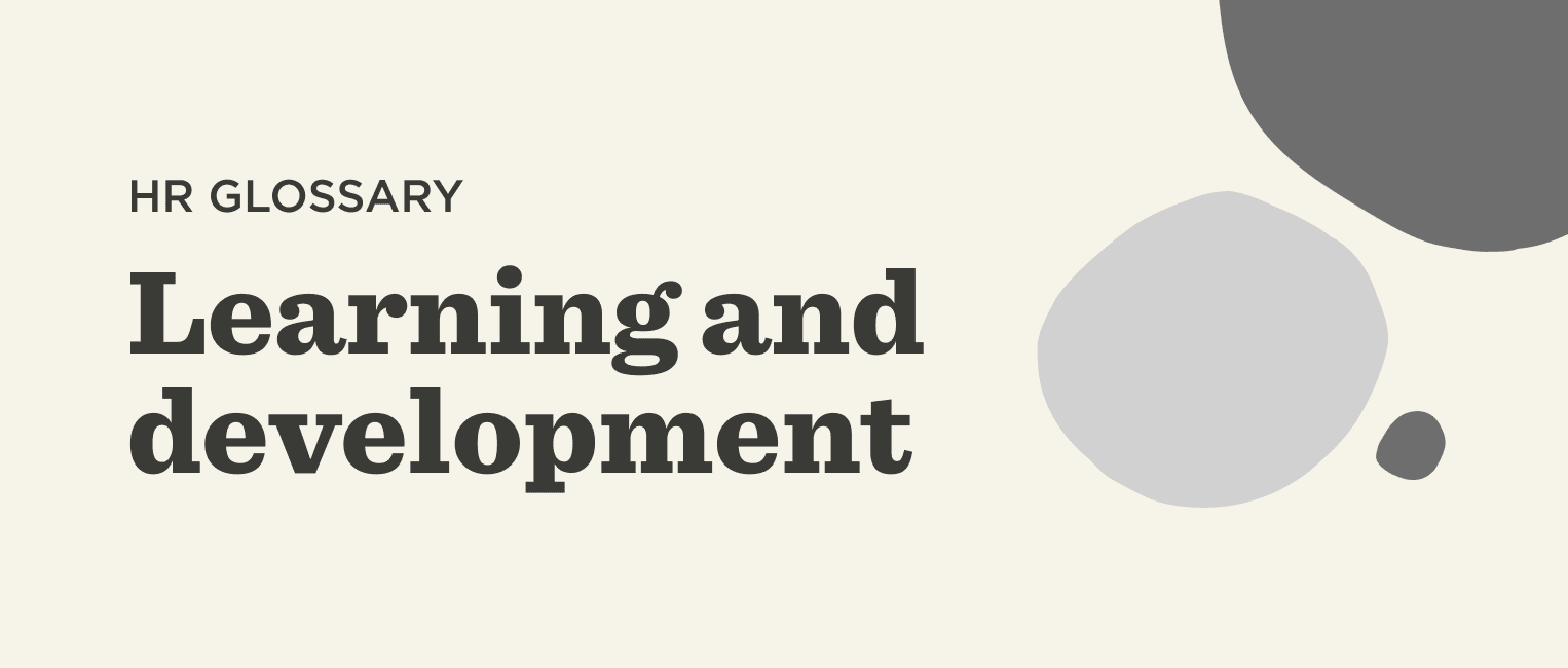 What is learning and development? - Learning-and-development-Glossary-banner.png