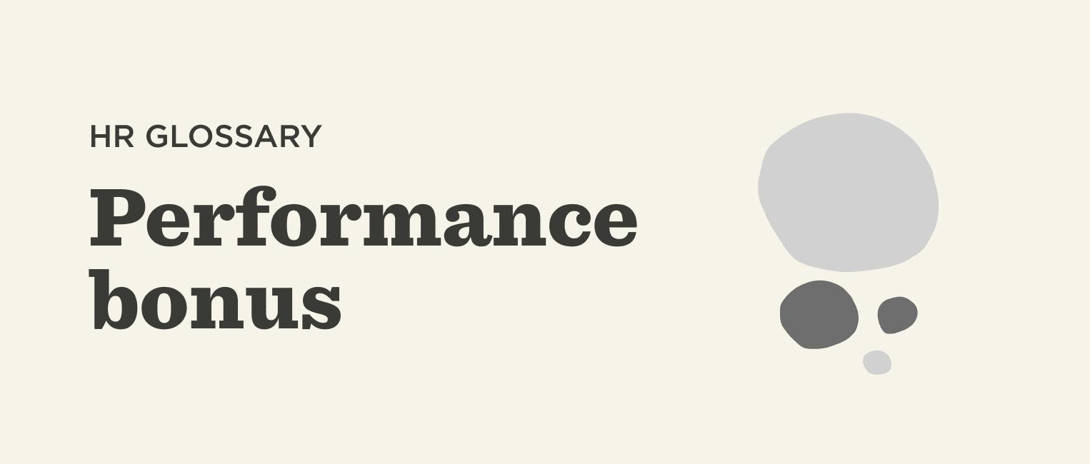 Performance-bonus-Glossary-banner