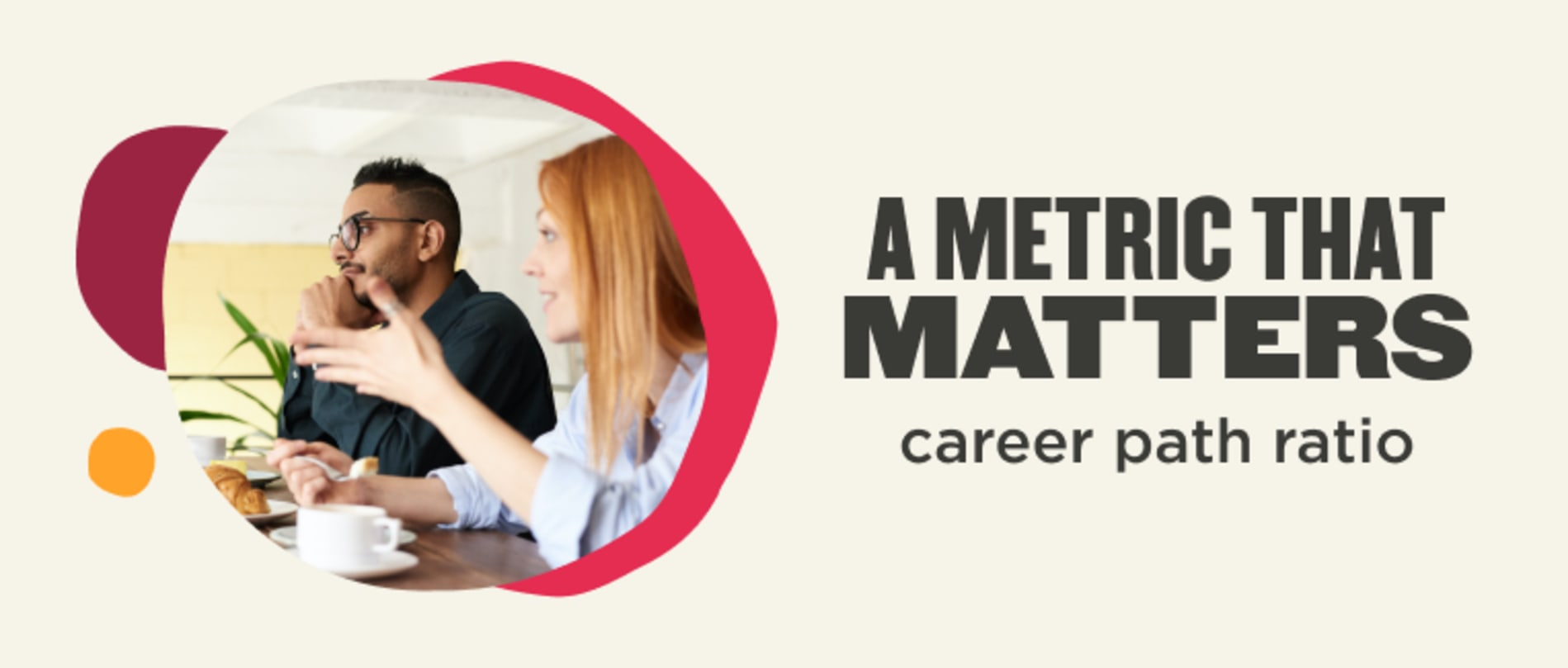 A metric that matters (career path ratio)