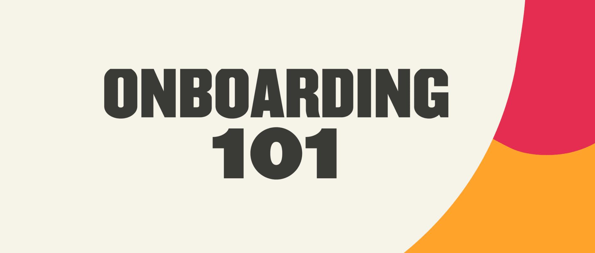 Onboarding best practices