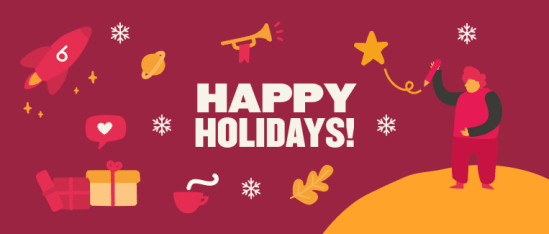 Remote holiday party ideas for 2020 - Happy-holidays-Blog-post.png